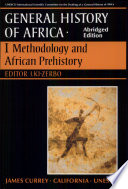 UNESCO General History of Africa  Vol  I  Abridged Edition Book PDF