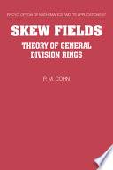 Skew Fields Free download PDF and Read online