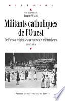 Militants catholiques de l'Ouest