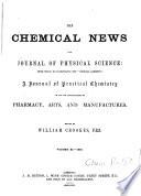 THE CHEMICAL NEWS VOL  XL 1865