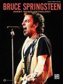 Bruce Springsteen    Sheet Music Anthology