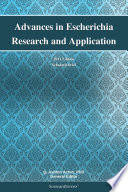 Advances In Escherichia Research And Application 2011 Edition