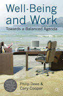 Well-Being and Work