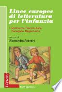 Linee europee di letteratura per l infanzia  I  Danimarca  Francia  Italia  Portogallo  Regno Unito