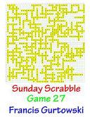 Sunday Scrabble Game Book PDF