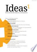 Ideas  revista de filosof  a moderna y contempor  nea  n  mero 1