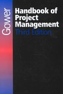 Gower Handbook Of Project Management : both by practicing project managers and...