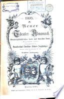 Neuer Theater-Almanach für das Jahr ...