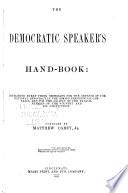 The Democratic Speaker s Hand book Book PDF
