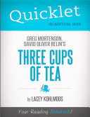 download ebook quicklet on greg mortenson and david oliver relin's three cups of tea pdf epub