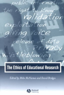 The Ethics of Educational Research