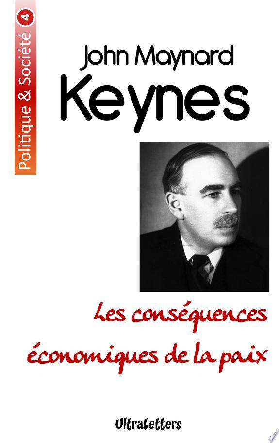 Les conséquences économiques de la paix / John Maynard Keynes.-