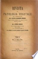 Revista di patologia vegetale