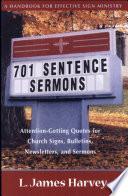 701 Sentence Sermons