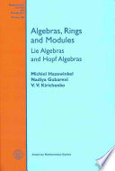 Algebras  Rings  and Modules