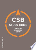 CSB Study Bible  Hardcover