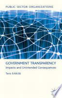Government Transparency Free download PDF and Read online
