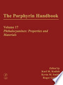 The Porphyrin Handbook  Phthalocyanines   properties and materials