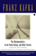 download ebook the metamorphosis, in the penal colony, and other stories pdf epub