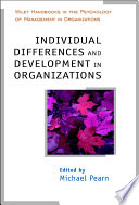 Individual Differences And Development In Organisations