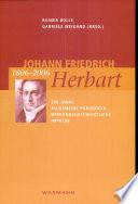 Johann Friedrich Herbart 1806-2006