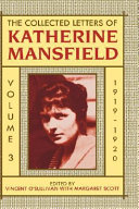 The Collected Letters of Katherine Mansfield: 1919-1920