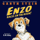 Enzo Races in the Rain! Book Cover
