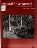Natural Areas Journal