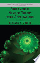 Fundamental Number Theory with Applications  Second Edition