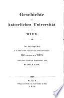 Statutenbuch der Universität