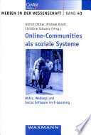 Online-Communities als soziale Systeme