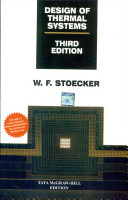 Design Of Thermal Systems 3e