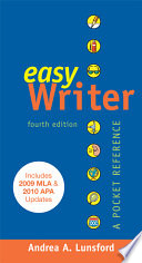 EasyWriter with 2009 MLA and 2010 APA Updates