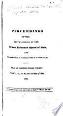 Proceedings of the Reformed Church of Ohio