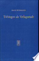 Tübingen als Verlagsstadt