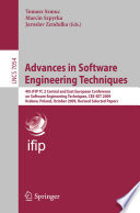 Advances in Software Engineering Techniques