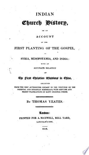 Indian Church history