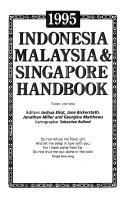Indonesia  Malaysia   Singapore Handbook