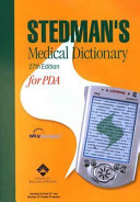 Medical Dictionary for PDA