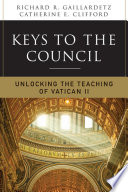 Keys to the Council Opening Of The Second Vatican Council Too