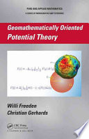 Geomathematically Oriented Potential Theory