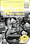 Spoken English 1 Teacher's Manual3rd Ed. 2003