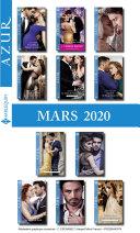 Pack mensuel Azur : 11 romans + 1 gratuit (Mars 2020)
