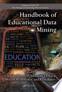 Handbook of Educational Data Mining