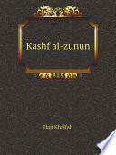 Kashf al-zunun