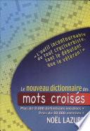 illustration Le nouveau dictionnaire des mots croisés