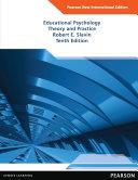 Educational Psychology  Pearson New International Edition
