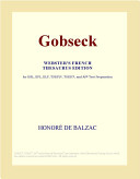 Gobseck  Webster s French Thesaurus Edition