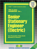 Senior Stationary Engineer  Electric