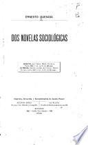 Dos novelas sociológicas